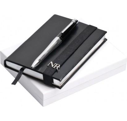 Набор: записная книжка, ручка шариковая