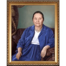 Портрет любимой бабушке