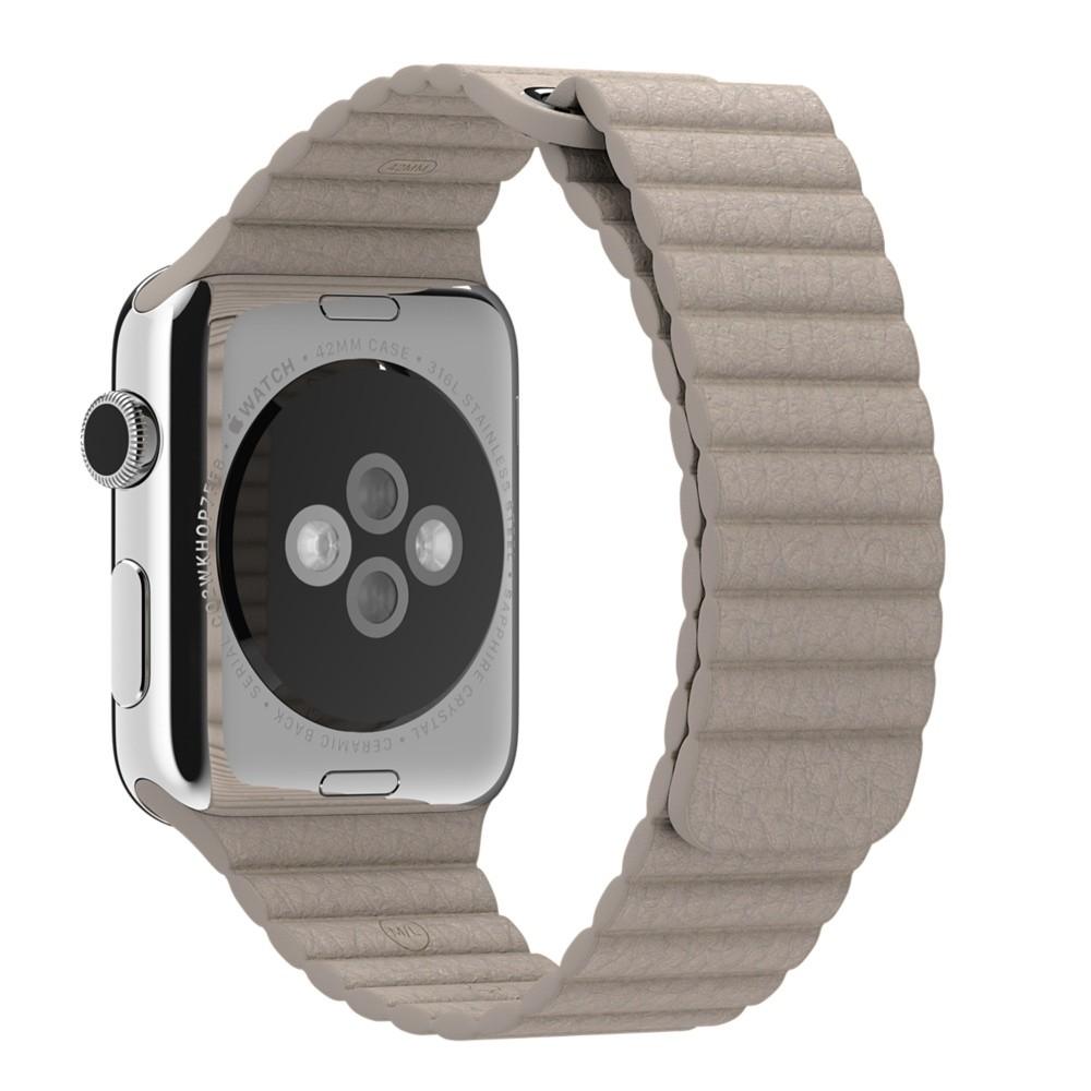 Кожаный ремешок Stone Leather Loop для Apple Watch