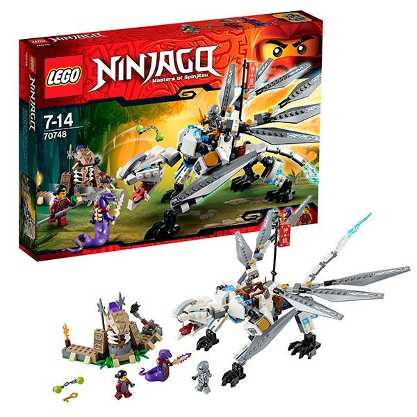 Конструктор Lego Ninjago Титановый дракон