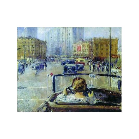Гобелен «Новая Москва», Пименов