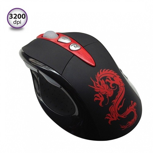 Компьютерная мышь Огненный дракон