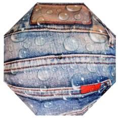 Женский зонт с принтом под джинсы Flioraj