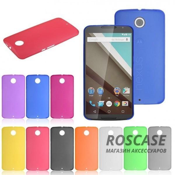 Разноцветные TPU чехолы для Motorola Nexus 6