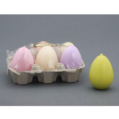 Набор лакированных свечей «Пасхальные яйца»