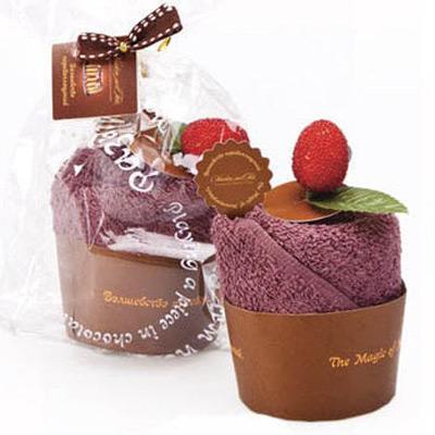 Полотенце для рук «Кекс с фиалковым сиропом»