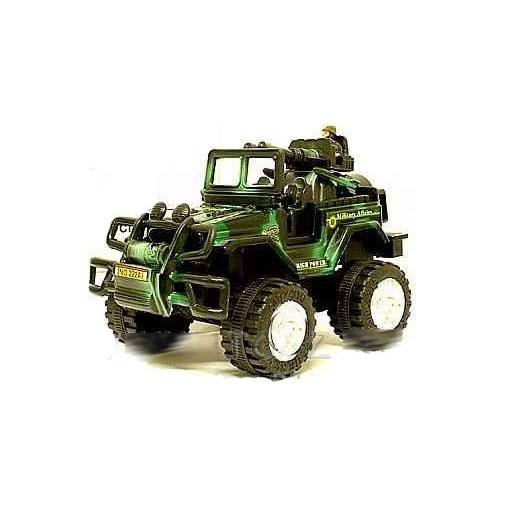 Инерционная машина Jeep