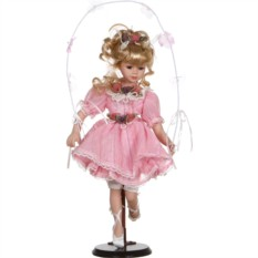 Фарфоровая кукла Принцесса с мягконабивным туловищем