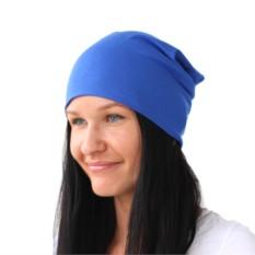 Синяя шапка Brazgovka