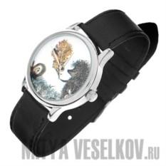 Часы Mitya Veselkov Ежик c листочком