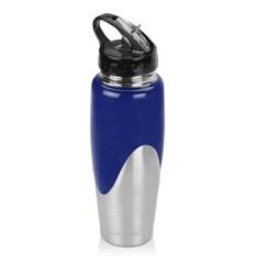 Синяя спортивная бутылка на 800 мл