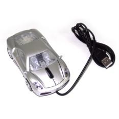 Компьютерная мышь Серебристый автомобиль