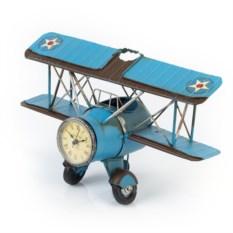 Подставка для ручек Часы-аэроплан