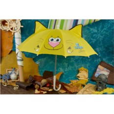 Детский желтый зонт Eclat Тигрененок с ушками