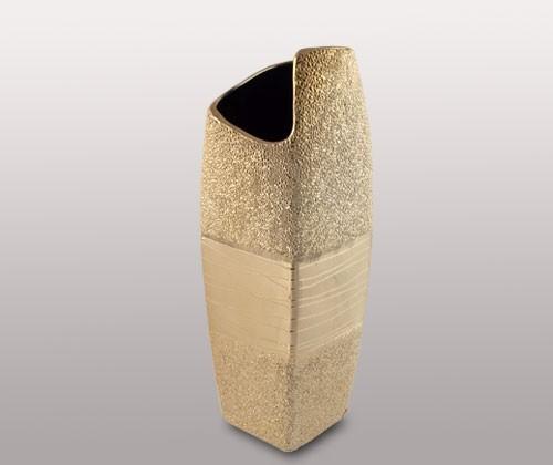 Декоративная ваза, бежевая