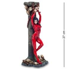 Статуэтка Женщина в красном