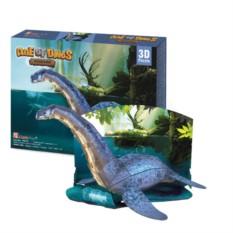 3D пазл Cubic Fun Эра Динозавров. Плезиозавр