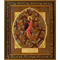 Икона на холсте Таинство Креста