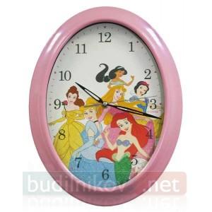 Часы настенные детские для девочек Дисней