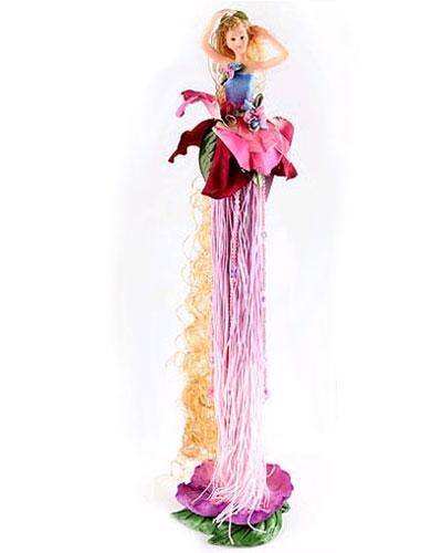 Коллекционная кукла  «Принцесса у зеркала»