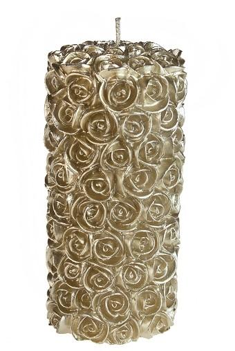 Свеча Розы выс = 16,5 см