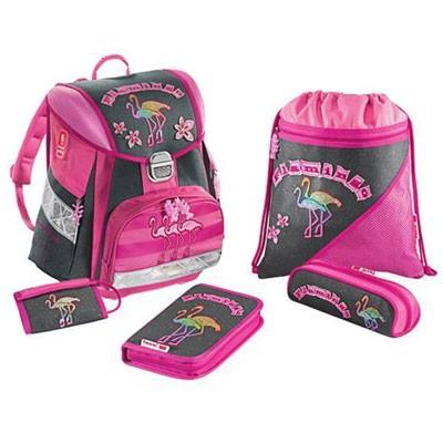 Школьный рюкзак «Фламинго» с наполнением, Hama