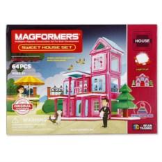 Конструктор для девочек Magformers Sweet House Set 64 детали