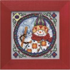 Набор для вышивания Северный снеговик