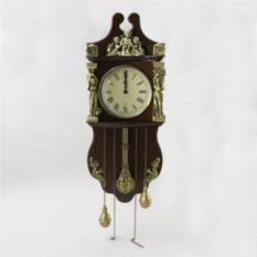 Настенные часы с маятником и гирями Деметра