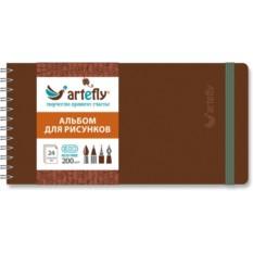 Коричневый скетчбук Artefly