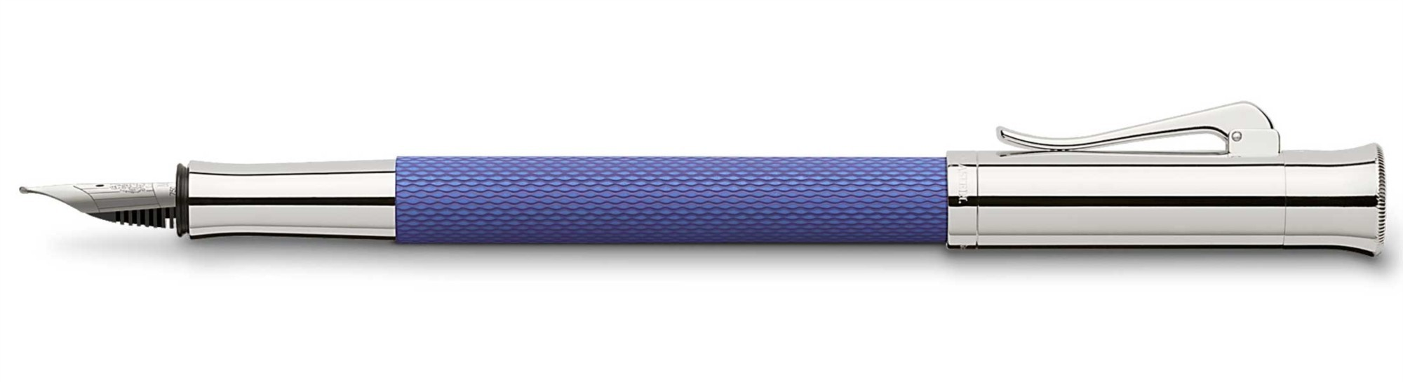 Перьевая ручка Graf von Faber-Castell Guilloche Indigo