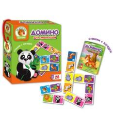 Домино для малышей «Зоопарк»