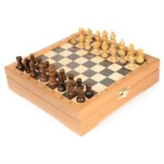 Деревянные мини-шахматы