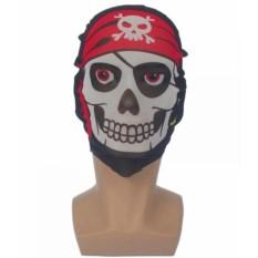 Текстильная маска Череп в бандане
