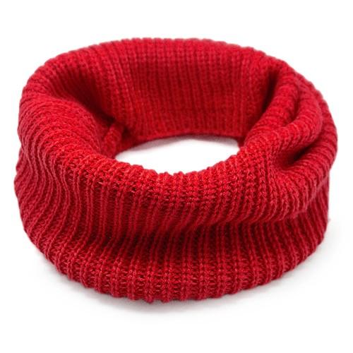 Шарф-снуд Lulu (красный)