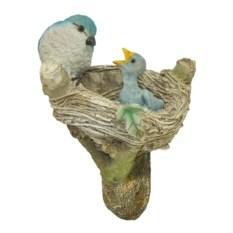 Садовая навесная фигурка Птицы в гнезде