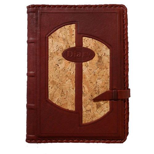 Ежедневник кожаный с золотым обрезом