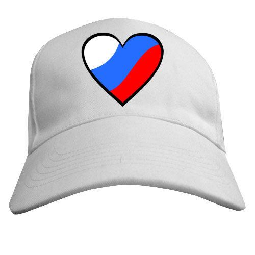 Бейсболка «Российское сердце»