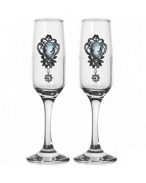 Набор свадебных бокалов №37