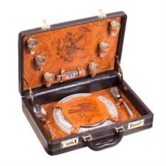 Подарочный набор для пикника на 6 персон «Сокол»