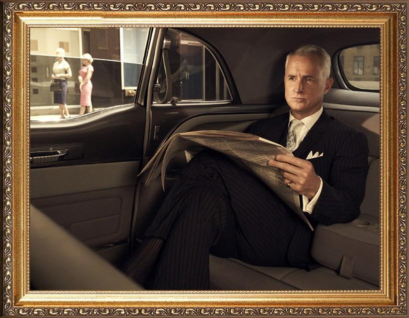 Оригинальный портрет автомобилисту