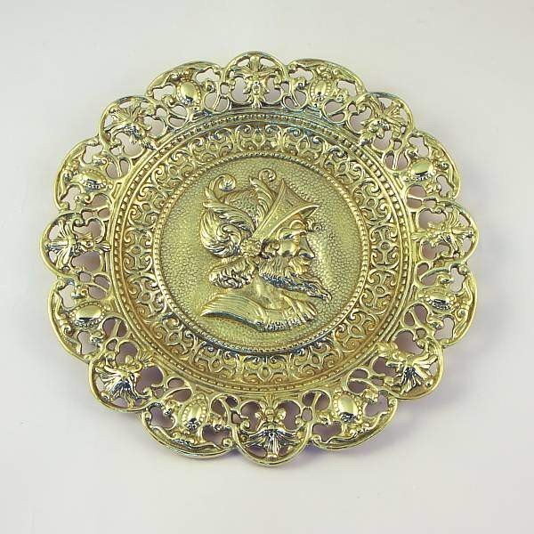 Декоративная настенная тарелка Дон Кихот