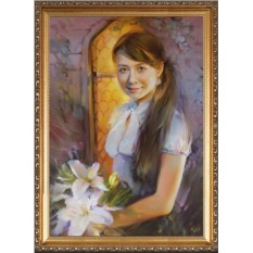 Портрет-подарок для девочки