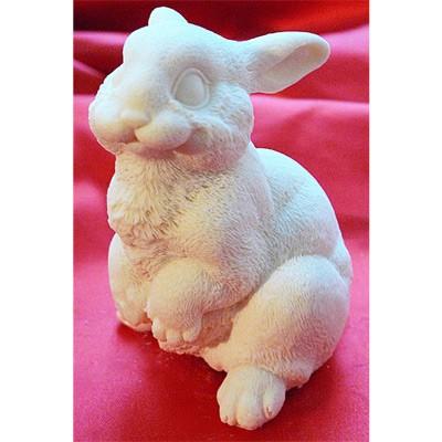 Заяц шоколадный на двух лапах маленький