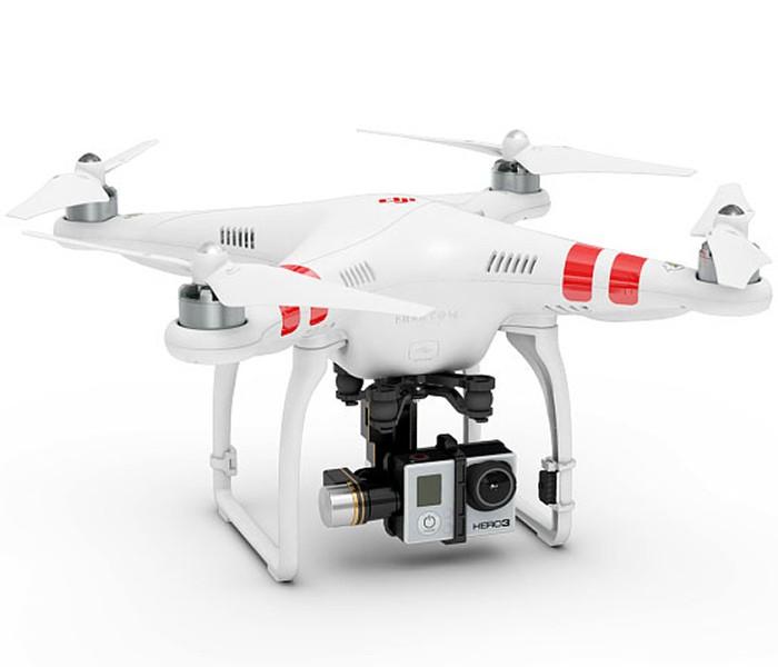 Квадрокоптер DJI Phantom 2 с подвесом для камер Gopro