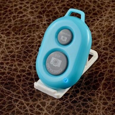 Голубой пульт для селфи Селфинатор