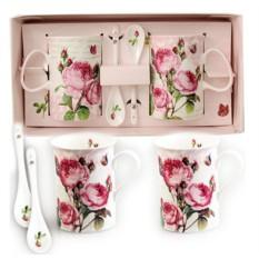 Набор подарочных кружек Розы