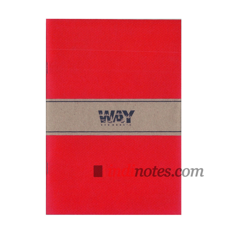 Красная тетрадь-скетчбук Way Colorbook