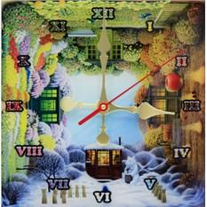 Часы с кристаллами Swarovski Времена года