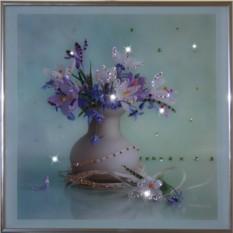 Картина с кристаллами Сваровски Весна